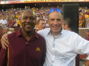 Former Gopher greats Chester Cooper and Mike Stensrud