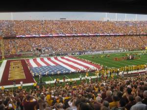 First Gopher Game in new stadium