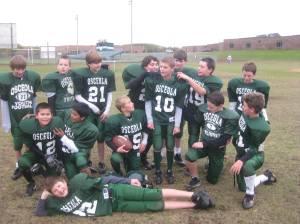 Coach Edling's Football team fall 2009